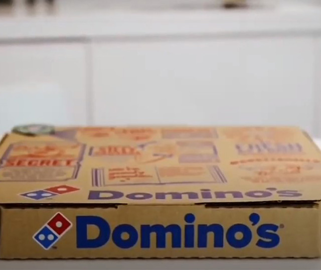 Domino's Steady Pizza